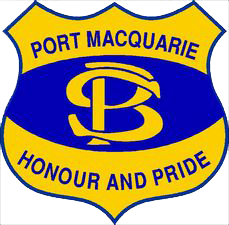 Port Macquarie Public School logo